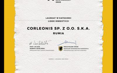 Corleonis laureatem Gryfa Gospodarczego!
